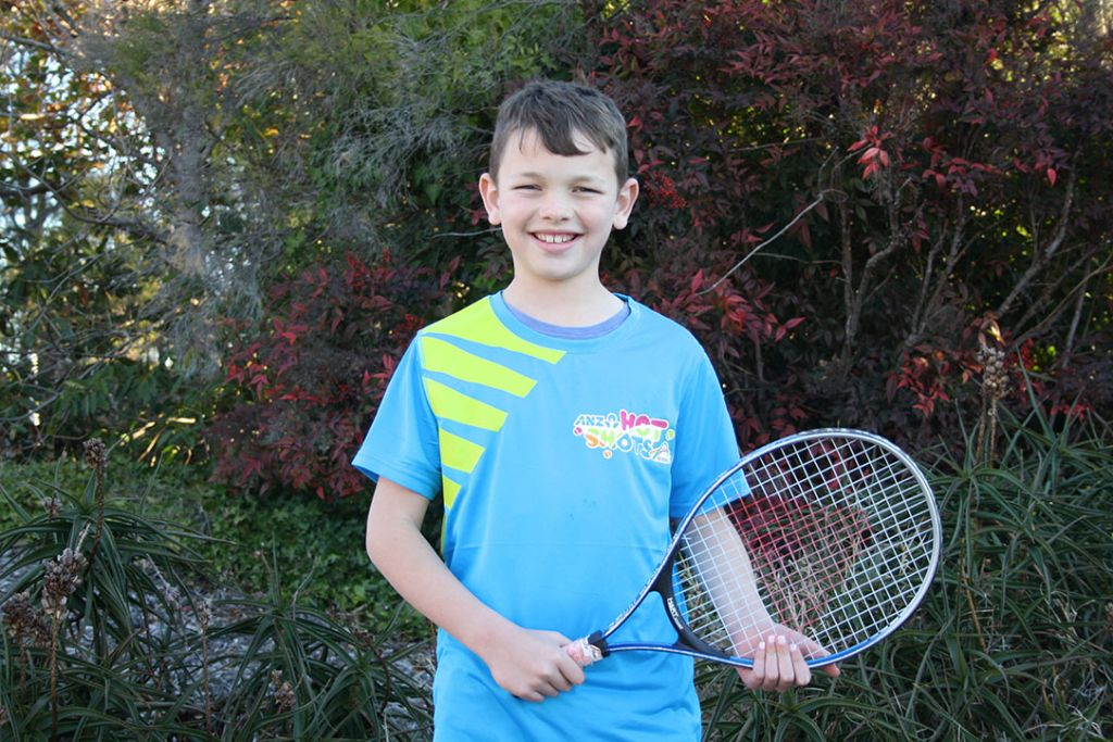 ANZ Tennis Hot Shot of the Year 2018 nominee Harry