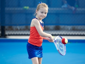ANZ Tennis Hot Shots makes it easy for kids to learn how to hit a ball